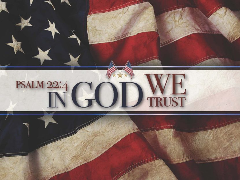 picture - In God we Trust